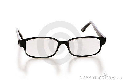 Optical glasses isolated