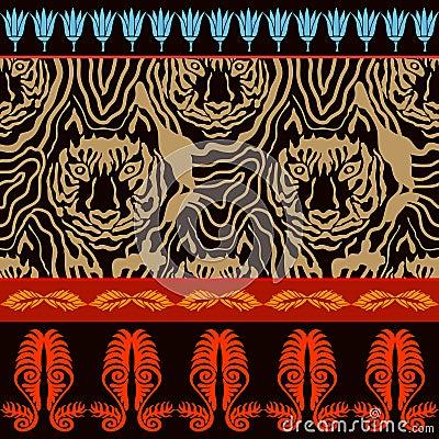 Free Optical Illusion Animal Print. Stock Photo - 85419040