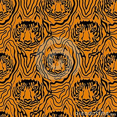 Free Optical Illusion Animal Print. Royalty Free Stock Photography - 85419197