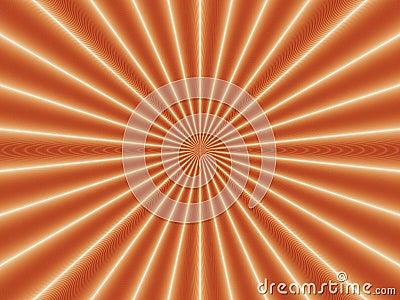 Optical Illusion Golden Nova