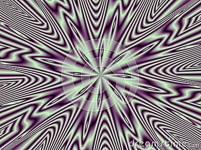 Optical Illusion Purple Nova Multiple