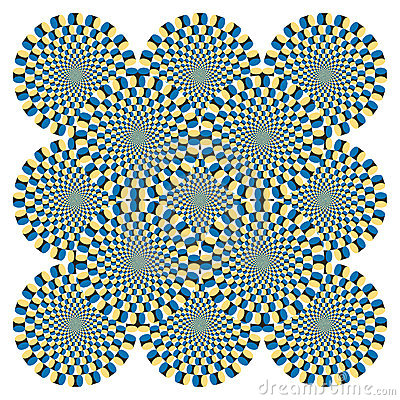 Free Optical Illusion Spin Cycle (Vector) Royalty Free Stock Images - 16900409