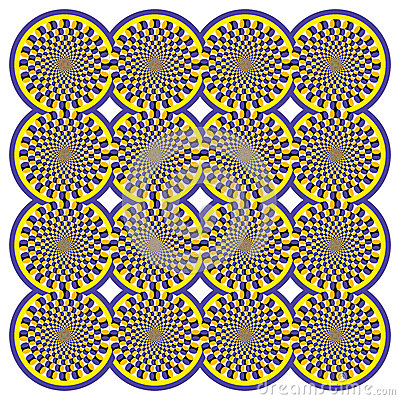Optical illusion Spin Cycle (Vector)