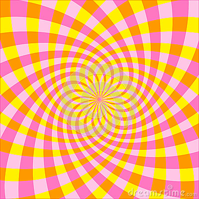 Optical illusion (Vector)