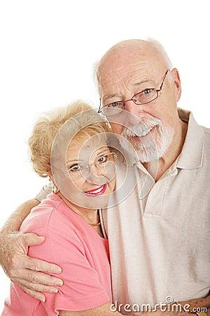 Free Optical Series - Happy Senior Couple Royalty Free Stock Images - 4115359