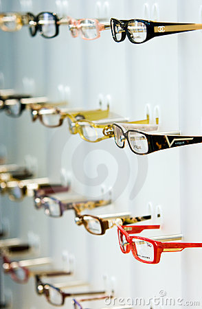 Opticians Shop Editorial Photography