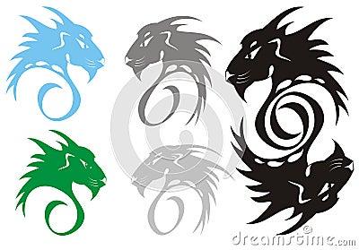 Roofdier symbolen