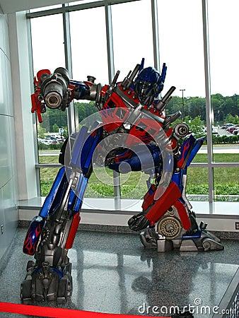 Free Optimus Prime The Transformer Stock Photos - 12325463