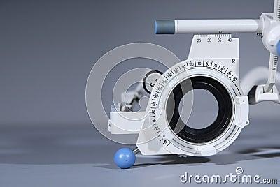 Optometrist s trial frame