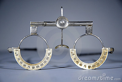 Optometrist s trial frame
