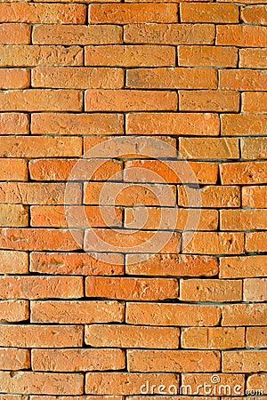 Orage brick wall