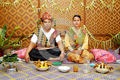 Orang Asli Wedding Editorial Photo