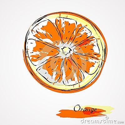 Free Orange Royalty Free Stock Image - 40896126