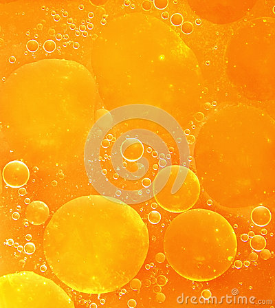 Free Orange Abstract Bubble Background. Royalty Free Stock Image - 39404666