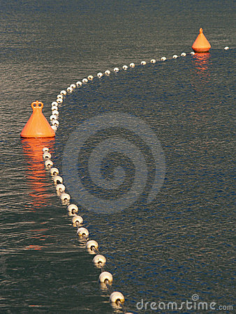 Free Orange An White Bouys Royalty Free Stock Image - 10336566