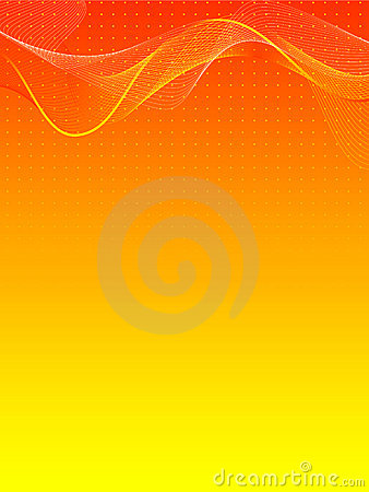 Free Orange And Yellow Abstract Background Royalty Free Stock Photos - 12956308
