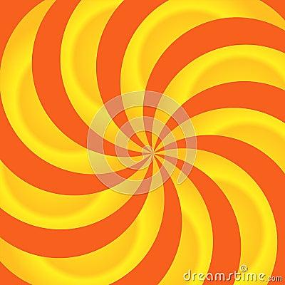 Free Orange And Yellow Swirls Abstract Royalty Free Stock Image - 7952546
