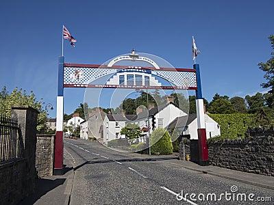Orange arch louhall north ireland