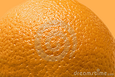 The Orange background