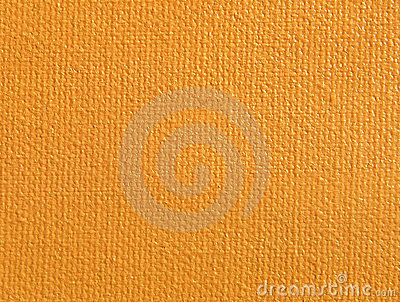 Orange background.