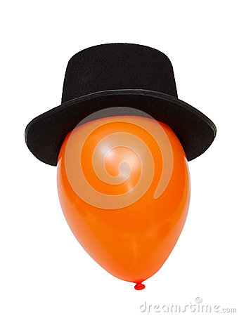 Balloon in a hat