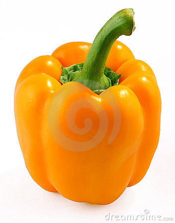 Free Orange Bell Pepper Royalty Free Stock Images - 14526309