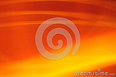 Orange blurred glow fire