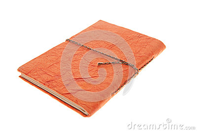 Orange Bound Journal , Isolated Diary