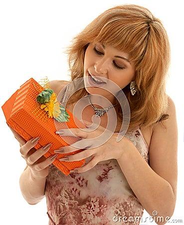 Free Orange Box Royalty Free Stock Image - 1138816