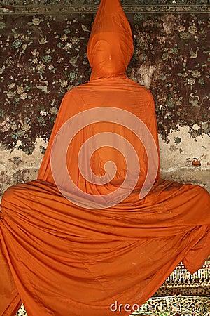 Free Orange Buddha Bangkok Thailand Stock Photos - 1068123