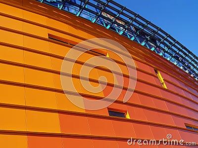 Orange building [1]