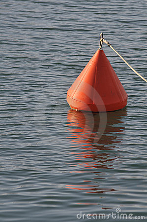 Free Orange Buoy Royalty Free Stock Images - 9354799