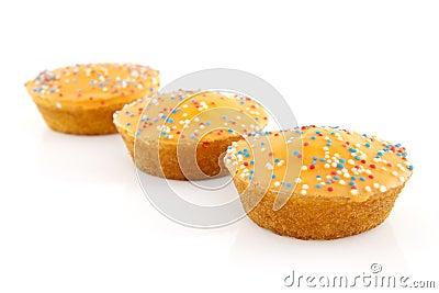 Orange cake cookies