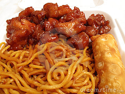 Orange Chicken & Lo Mein