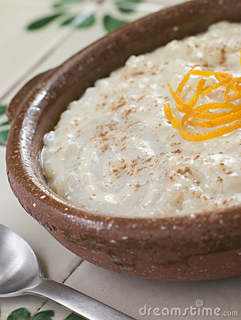 Orange and Cinnamon Rice Pudding