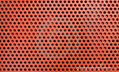Orange circle abstract background