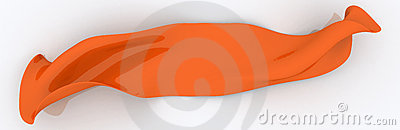 Orange Cloth Sign