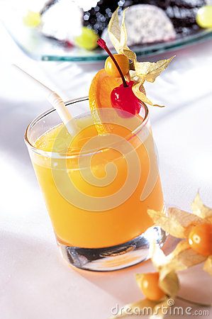 Orange Cocktail Royalty Free Stock Images - Image: 25473979