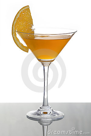 Orange cocktail and citrus