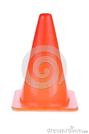 Free Orange Cone Used Warning Sign Under Construction Work Area Royalty Free Stock Photos - 56811008