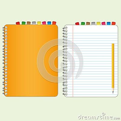Orange cover book