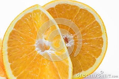 Orange cross sections