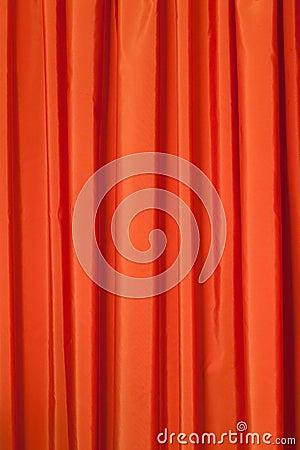 Free Orange Curtains Royalty Free Stock Images - 23666479