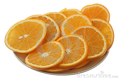 Orange cutting