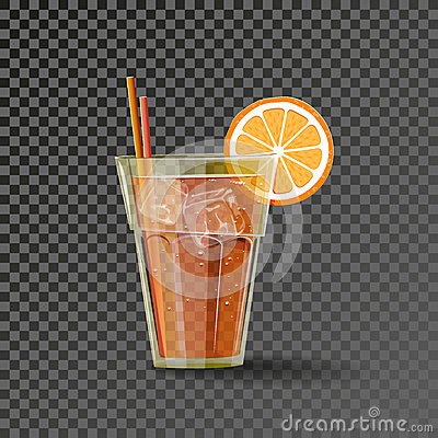 Free Orange Drink In The Glass Royalty Free Stock Photography - 71107447