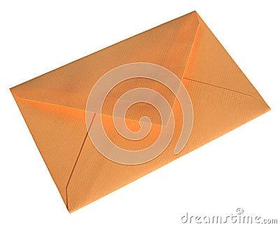 Orange envelope