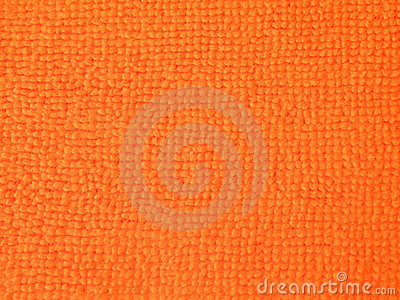 Orange fabric abstract
