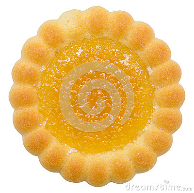 Orange Filled Biscuit