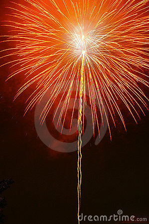 Free Orange Firework Stock Photos - 241203