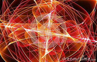 Orange fractal
